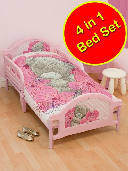 4 in 1 CHARACTER BEDDING BUNDLES TO FIT JUNIOR & TODDLER ...