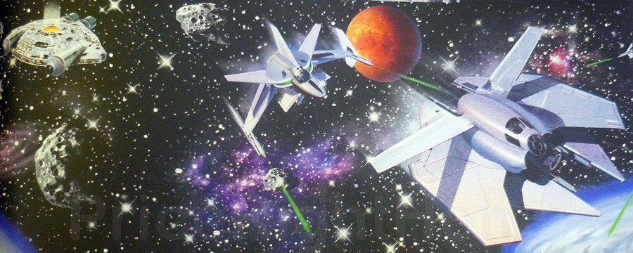 Space Themed Wallpaper Border Space Craft Wallpaper Border m High quality outer space themed