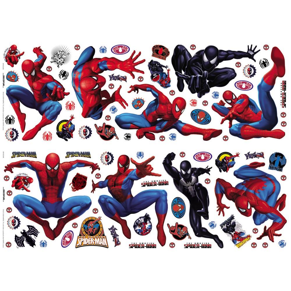asombroso spiderman stikarounds pared adhesivo 72 decorative wall stickers bratz 56 large stikarounds free