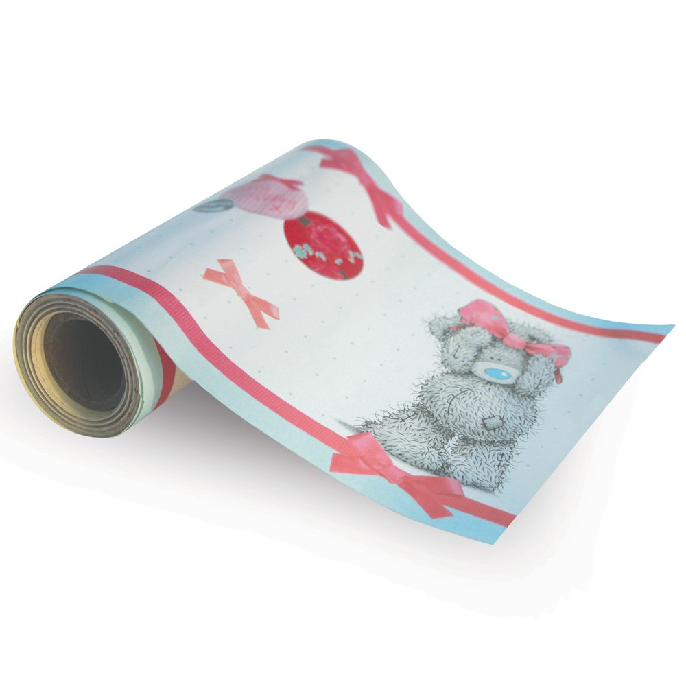 Me to you tatty teddy self adhesive wallpaper border 5m for Wallpaper with adhesive backing