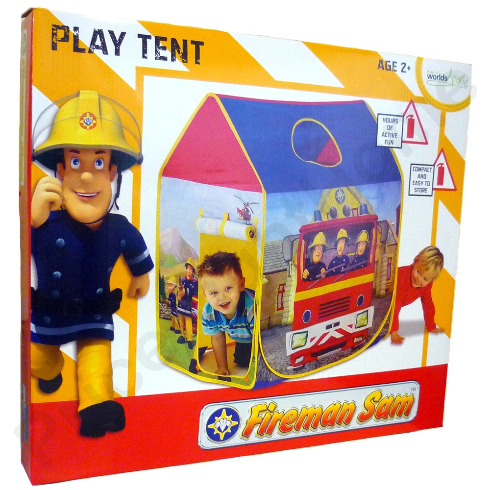 Tente Jeux Enfant Sam Pompier Neuf + Boite
