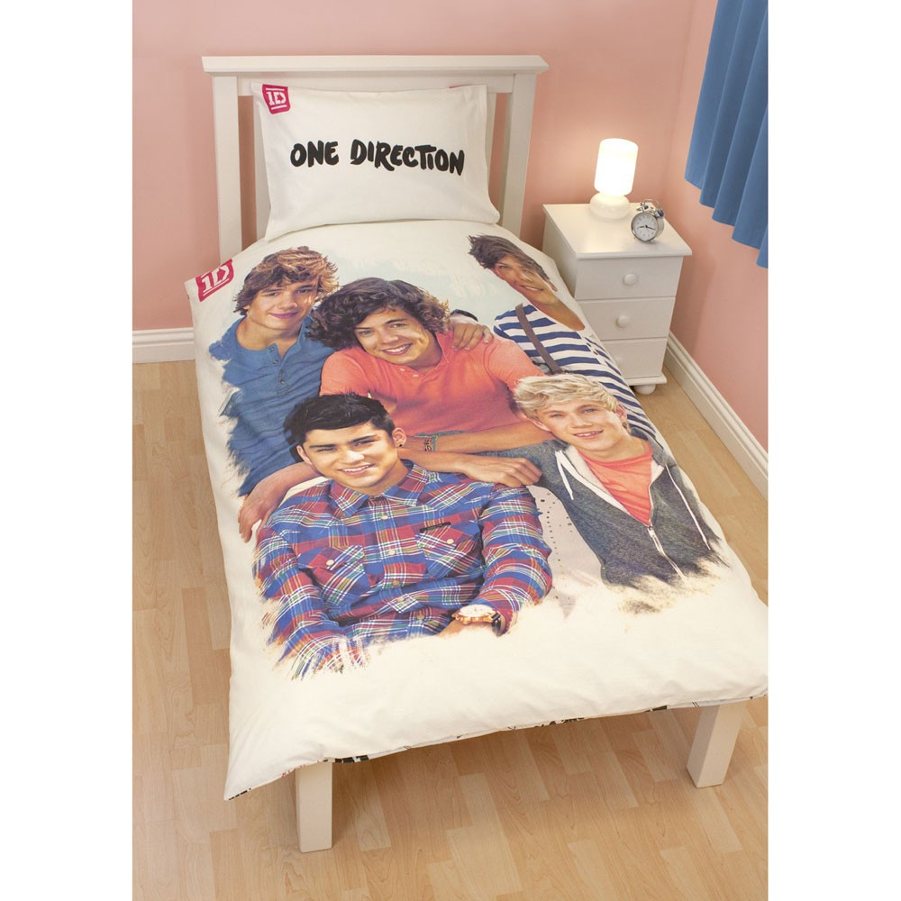 one direction duvet covers bedding bedroom accessories official new 1d ebay. Black Bedroom Furniture Sets. Home Design Ideas