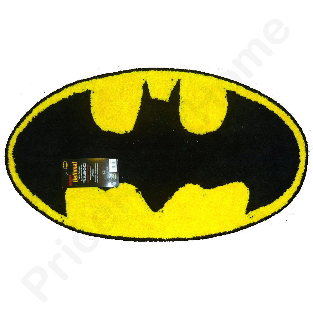 batman bath mat floor rug new sealed official ebay