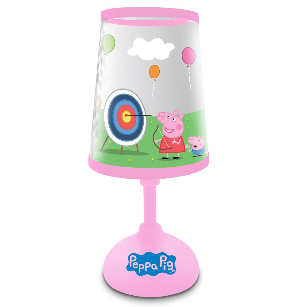 Peppa pig night light bedside lamp new official ebay for Peppa pig lamp and light shade