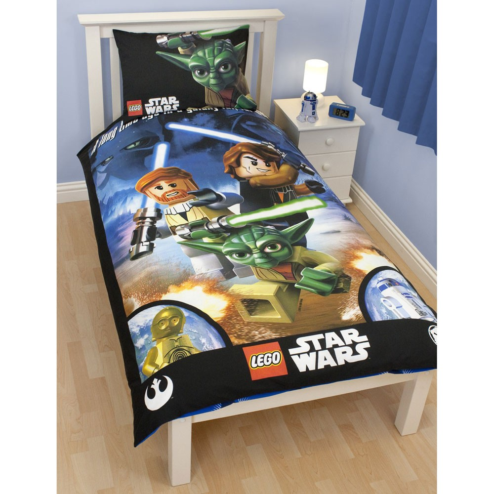 Lego star wars 39 galaxy 39 duvet cover new free p p ebay for Bedroom nothing lasts chords