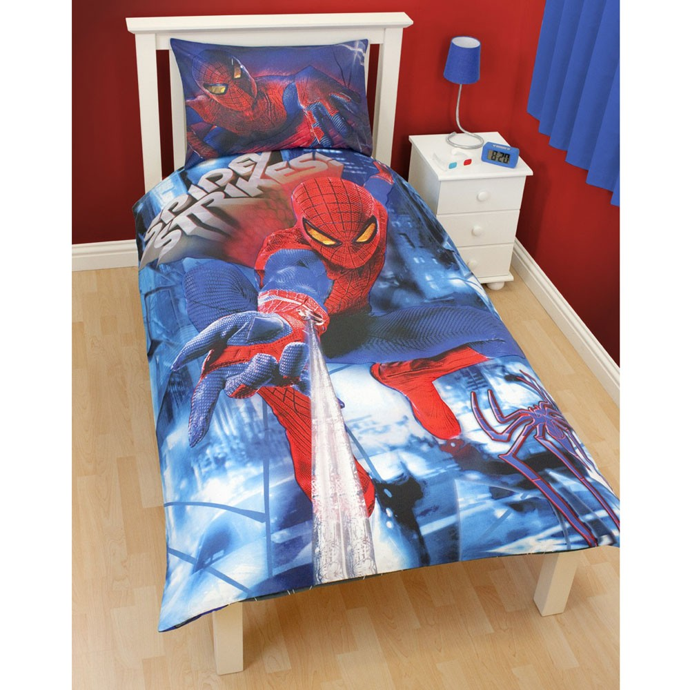 Spiderman and friends bedding - Spiderman Duvet Covers Bedding Amp Bedroom Accessories New