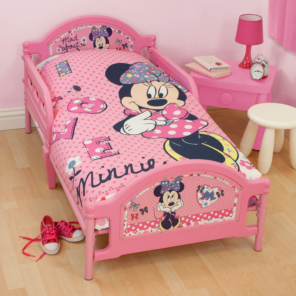 Disney minnie mouse bedding bedroom accessories free p for Bedroom decor and accessories