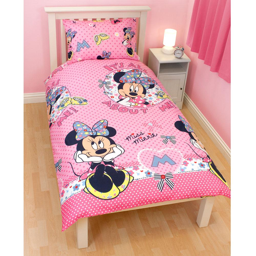 details about disney minnie mouse bedding bedroom accessories free