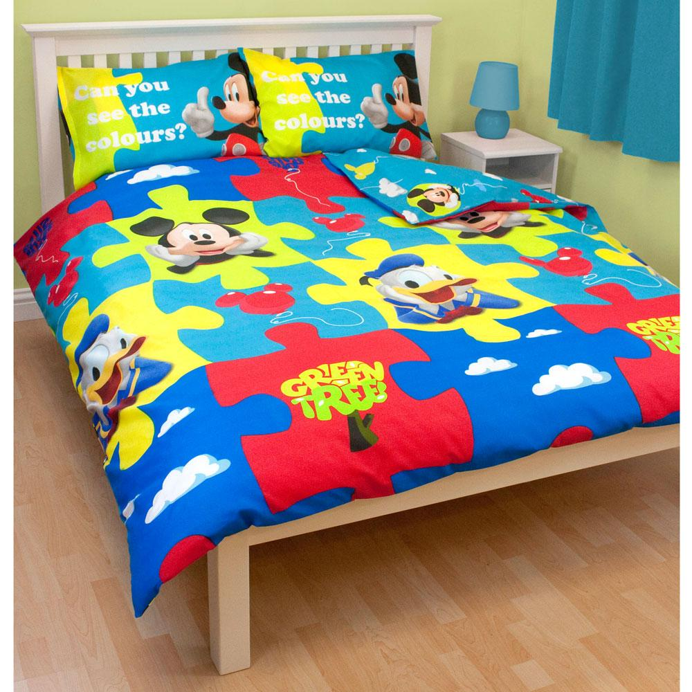 DISNEY-MICKEY-MOUSE-BEDROOM-ACCESSORIES-BEDDING-amp-FURNITURE-NEW ...