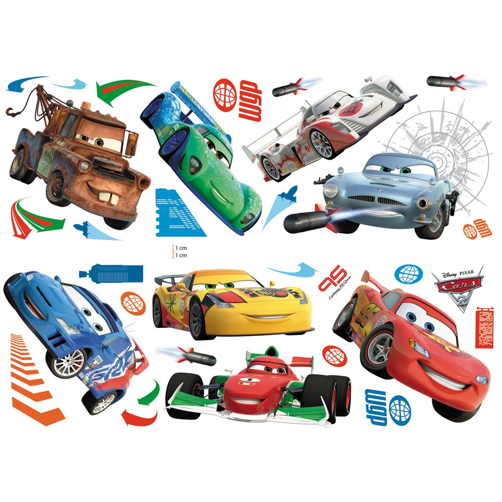 Disney Cars Bedroom Stickers 1000 x 1000