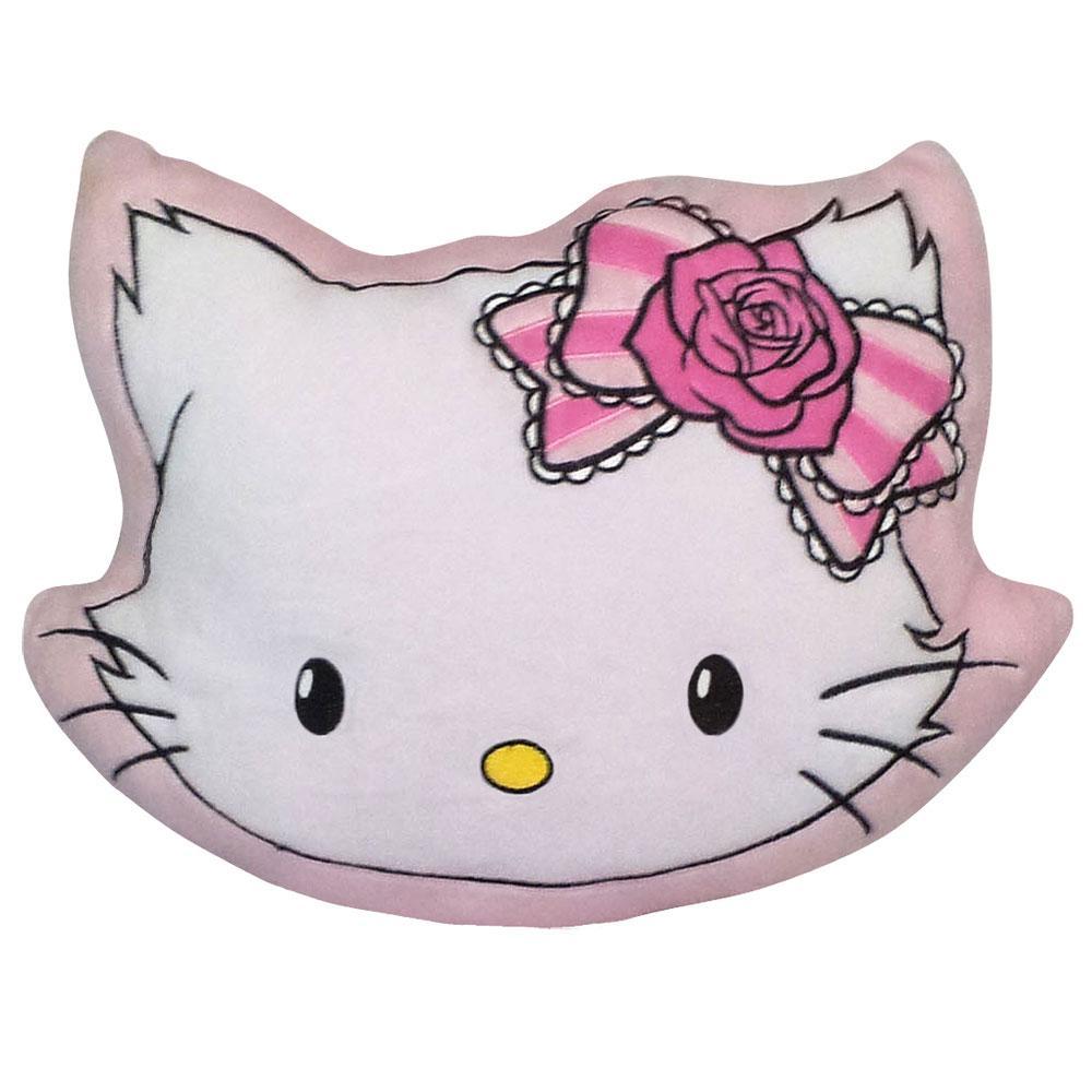 sanrio hello kitty charmmy kitty luxus pl sch kissen pl schkissen 34x23 neu ebay. Black Bedroom Furniture Sets. Home Design Ideas