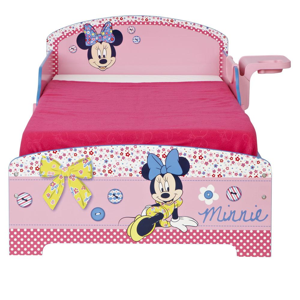 Minnie Mouse Toddler Junior Bed Shelf Amp Storage Sprung