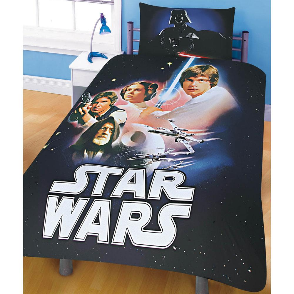 details about star wars bedding bedroom accessories new official