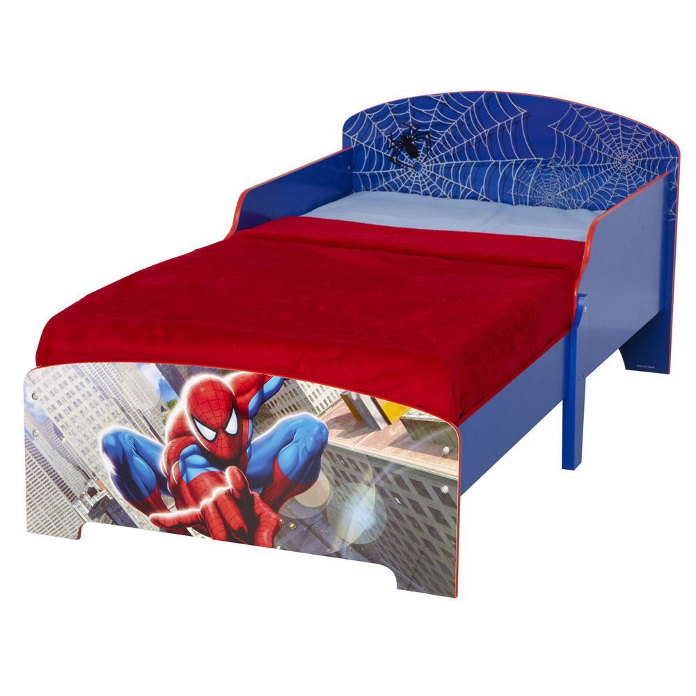 SPIDERMAN TODDLER JUNIOR BED NEW SPIDER MAN BEDROOM