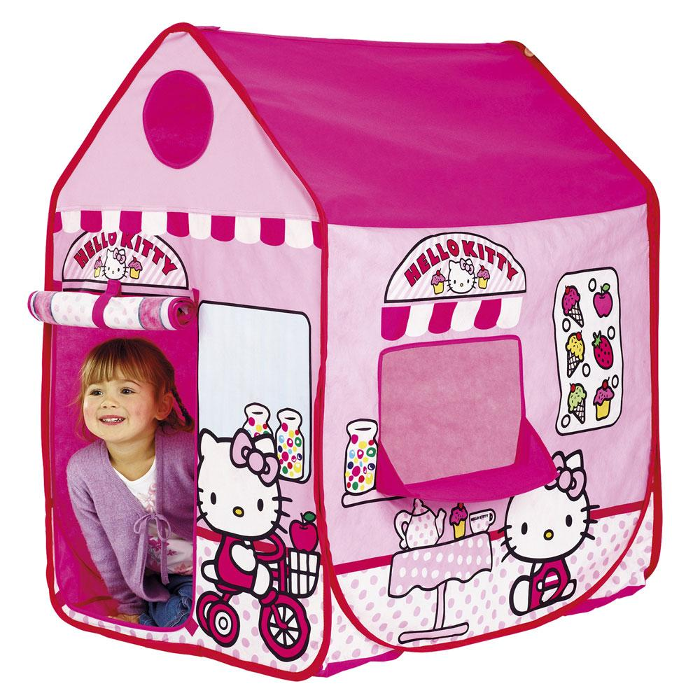 Hello kitty play shop tent wendy house new official ebay - Petite maison hello kitty ...