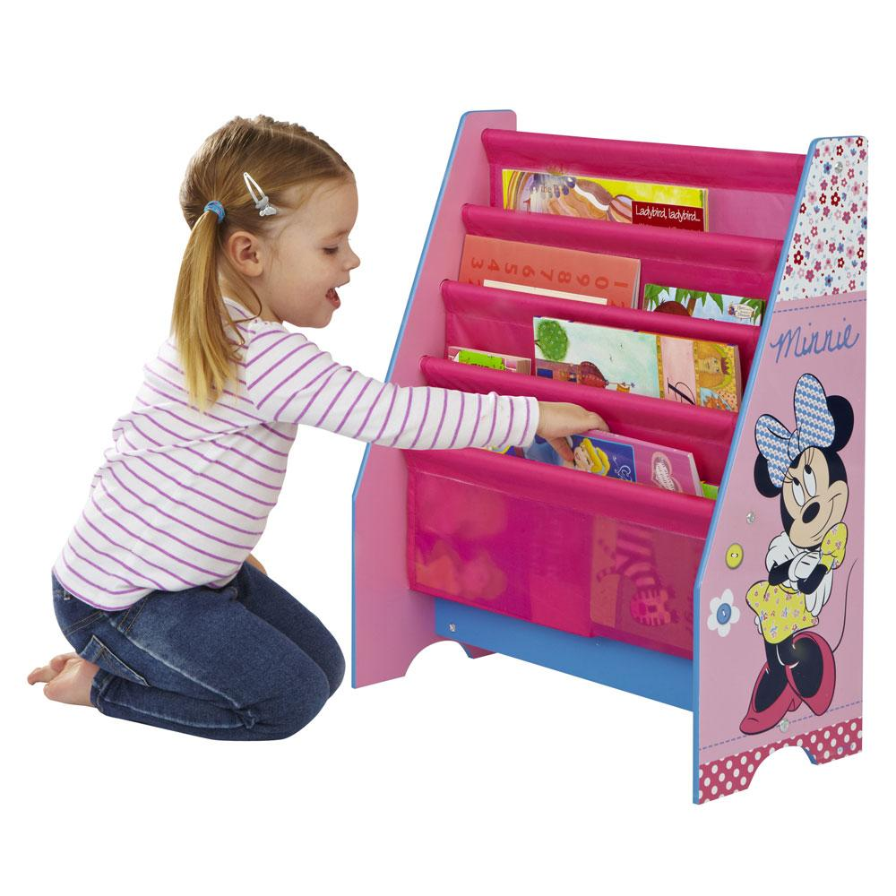 details about minnie mouse sling bookcase bedroom furniture new