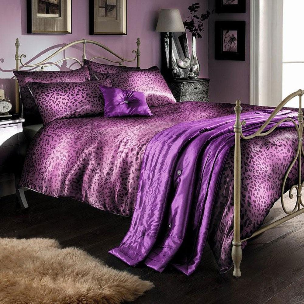 Aubergine Duvet Cover Twin Bed