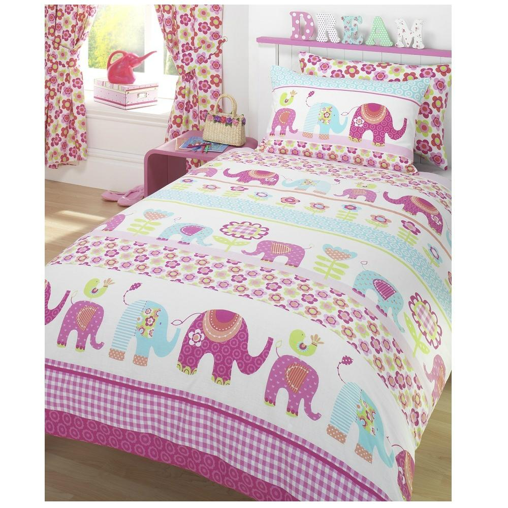 Girls Single Duvet Cover Amp Pillowcase Bedding Sets New Ebay