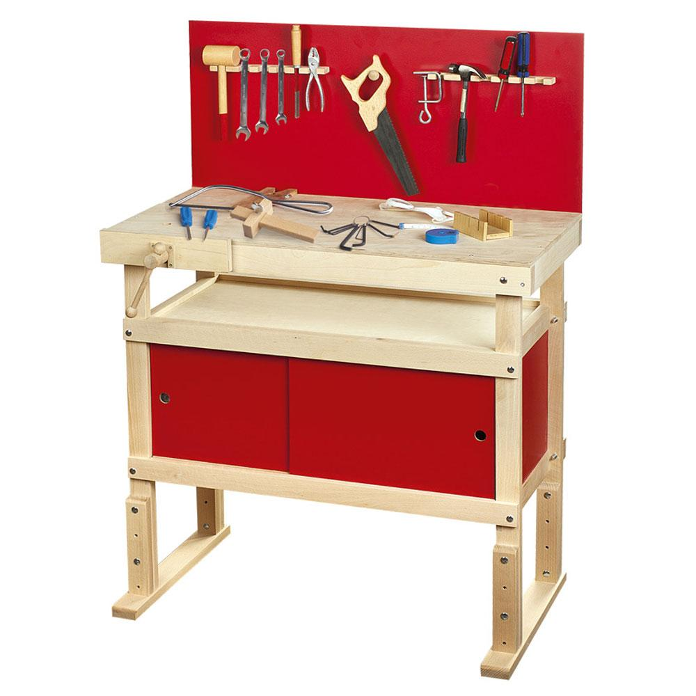 Young Carpenters Work Bench Role Play Fun By Leomark New Free P P Ebay