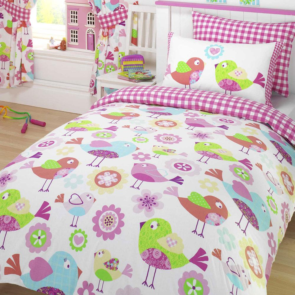 Girls Bedding Sets Children 39 S Single Duvet Covers New