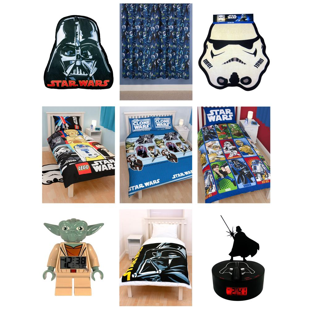 star wars bettw sche schlafzimmer zubeh r neu. Black Bedroom Furniture Sets. Home Design Ideas