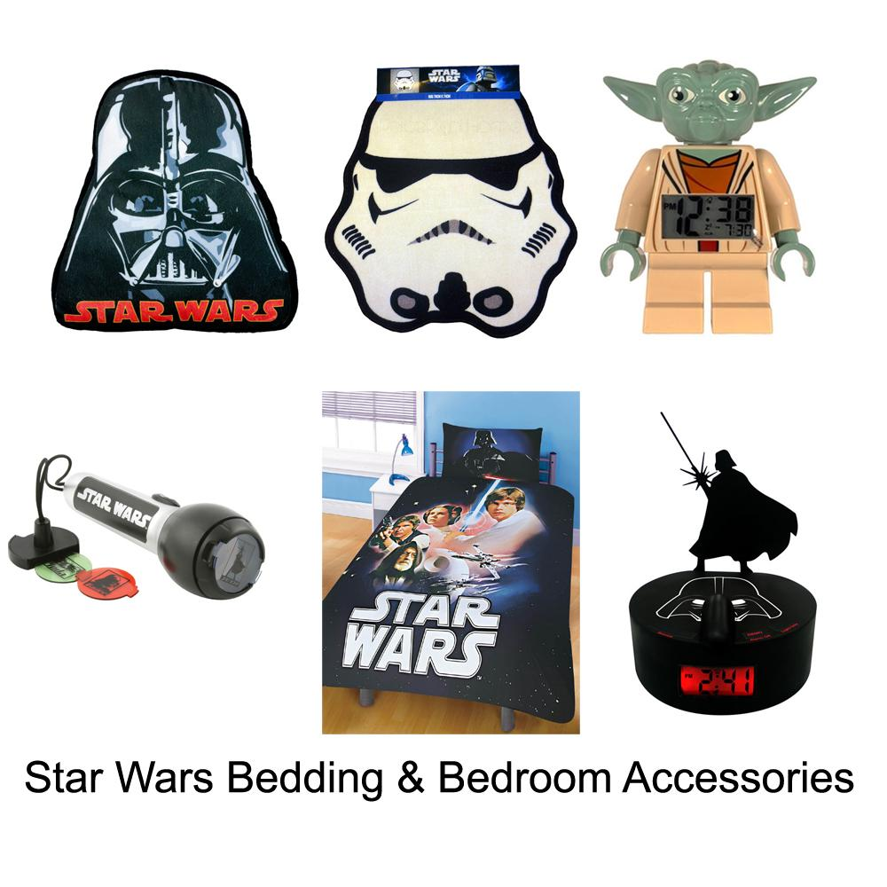 Star Wars Bedding Bedroom Accessories New Official Free Uk Delivery Ebay