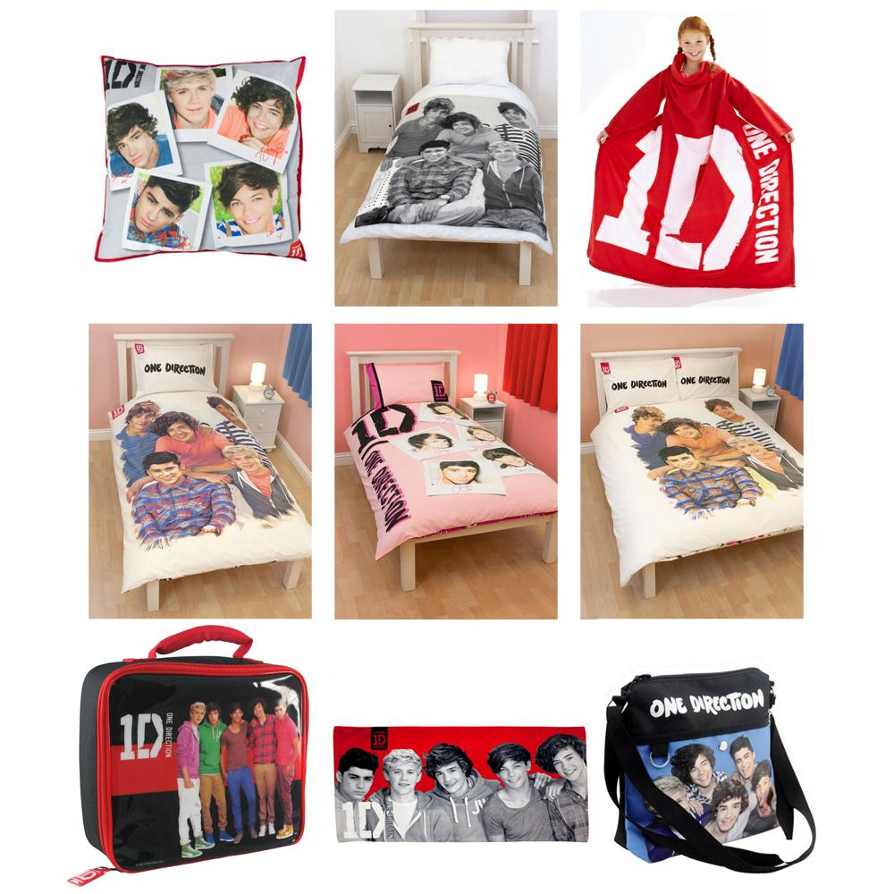 One Direction Bed Set Double
