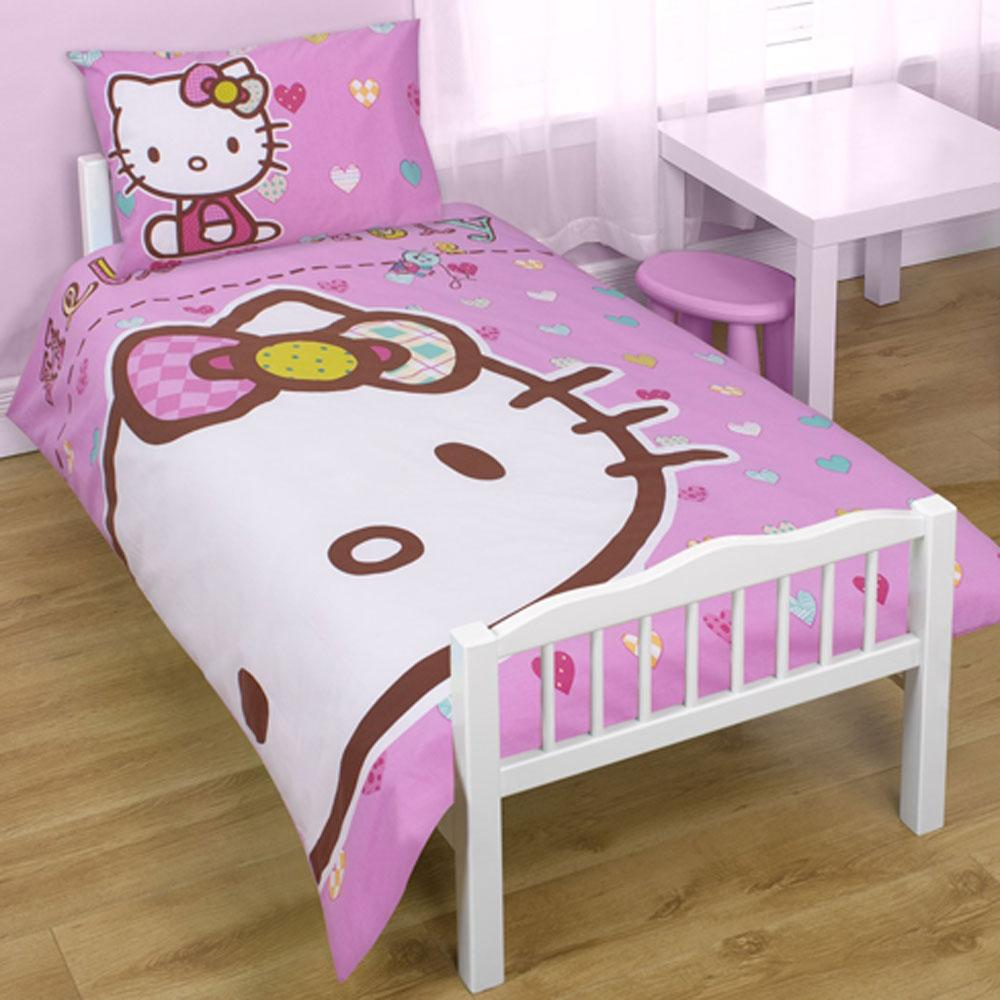 hello kitty bedroom accessories bedding furniture more 100 official ebay. Black Bedroom Furniture Sets. Home Design Ideas