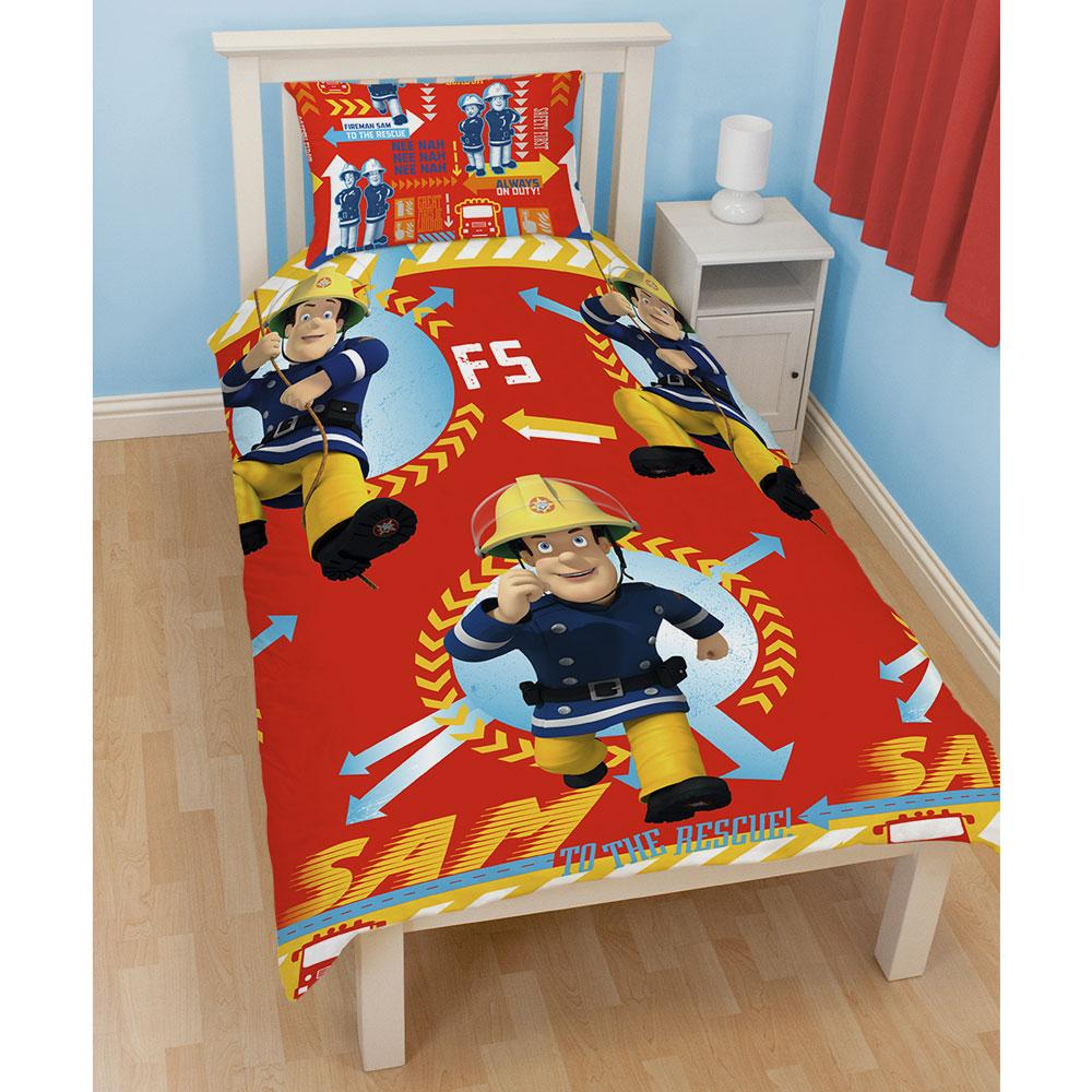 NEW FIREMAN SAM BEDROOM ACCESSORIES BEDDING FURNITURE OFFICIAL EBay