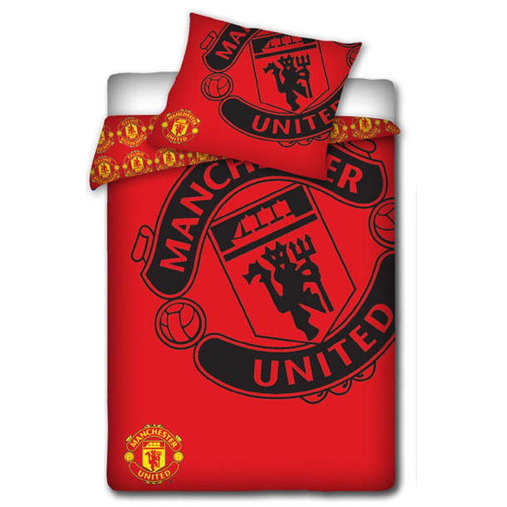 MANCHESTER UNITED BEDROOM ACCESSORIES BEDDING LIGHTING