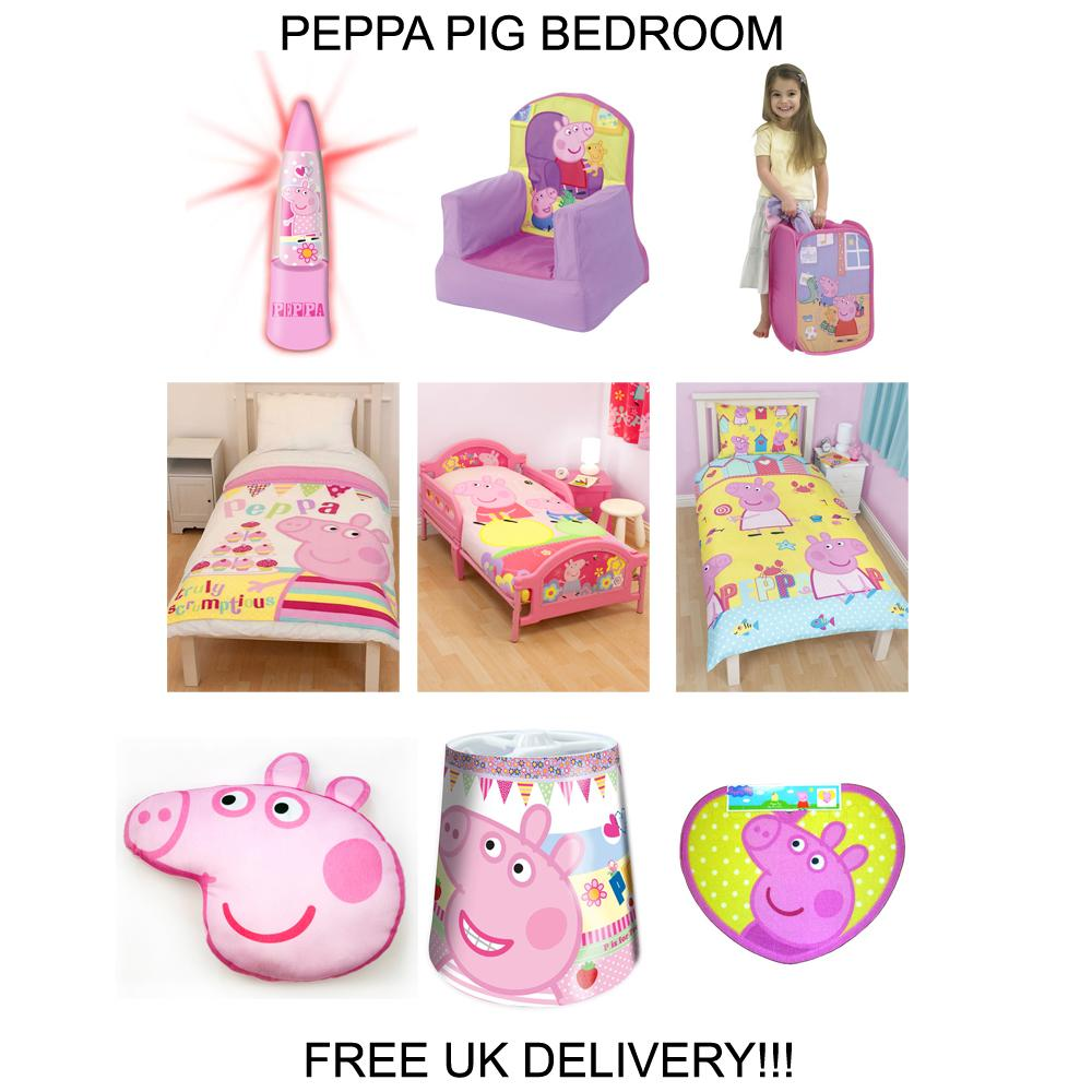Peppa Pig Bedding Amp Bedroom Decor Duvets Wall Stickers