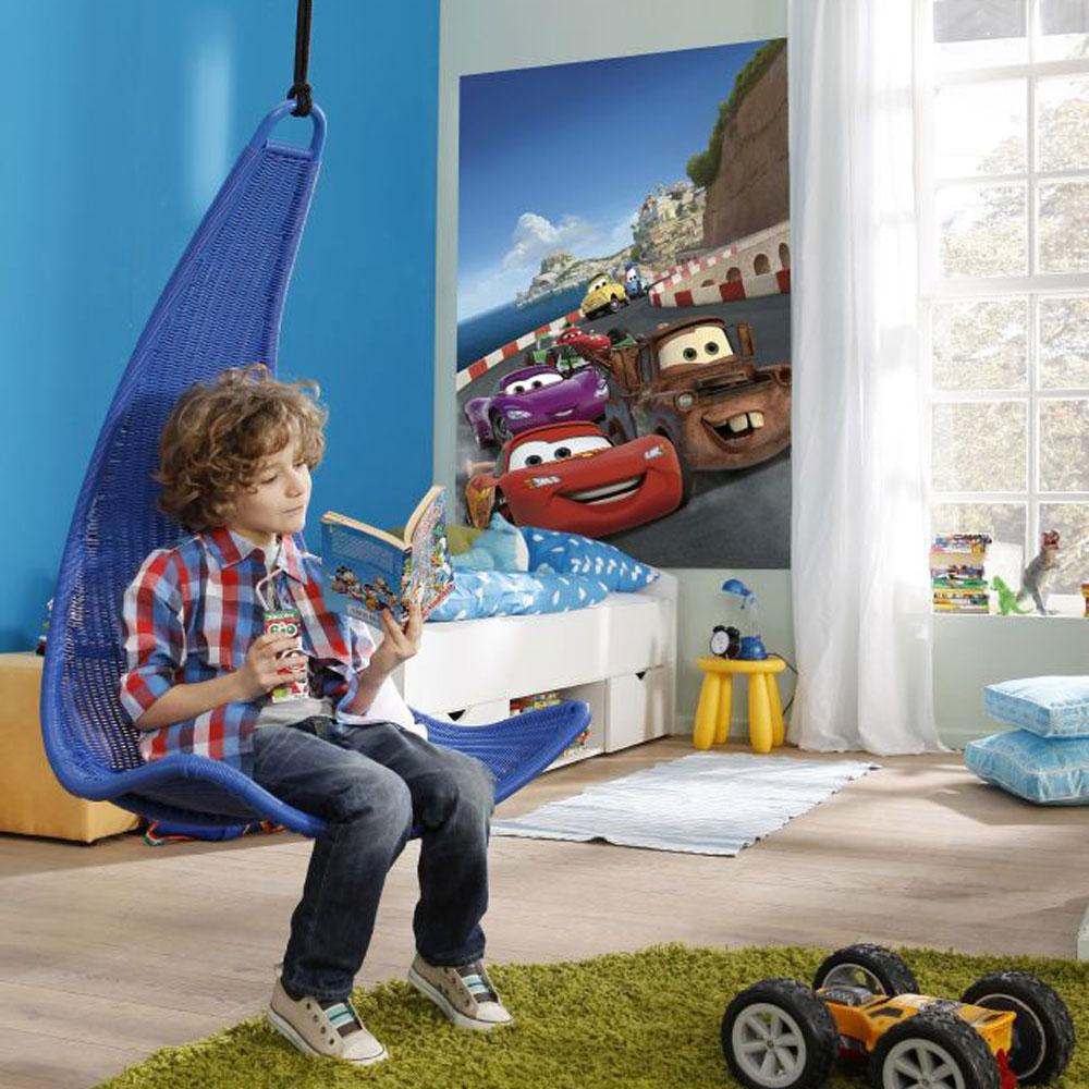Disney Cars Wall Murals Part - 38: DISNEY-amp-CHARACTER-LARGE-WALL-MURAL-BEDROOM-DECOR-