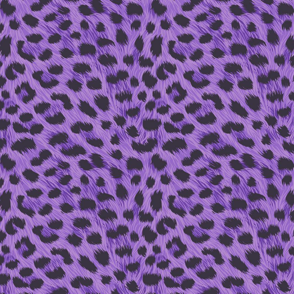 purple leopard print pattern