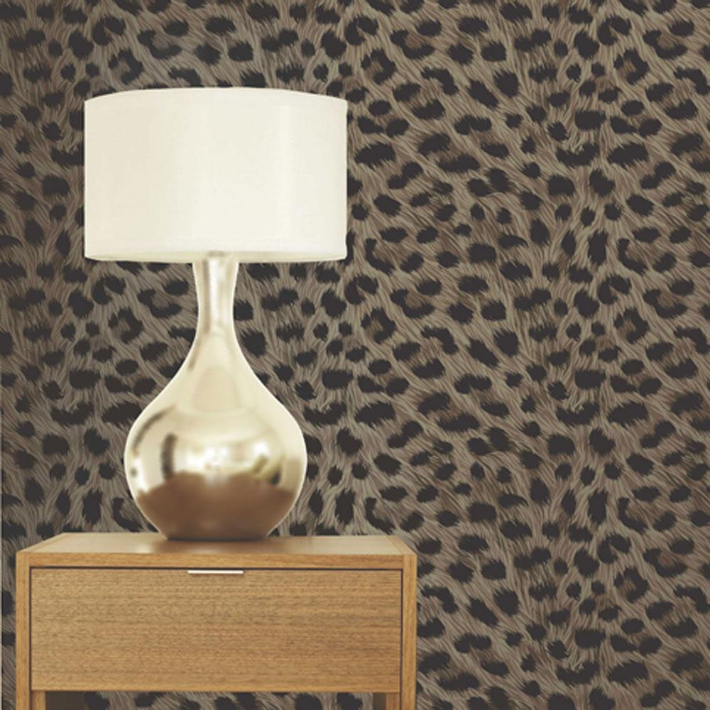 Leopard Print Bedroom Luxury Leopard Print Wallpaper 10m Room Decor All Colours Tiger