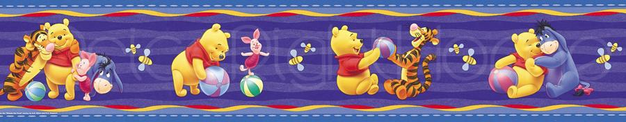 Character Generic Wallpaper Borders 5m Self Adhesive Kids