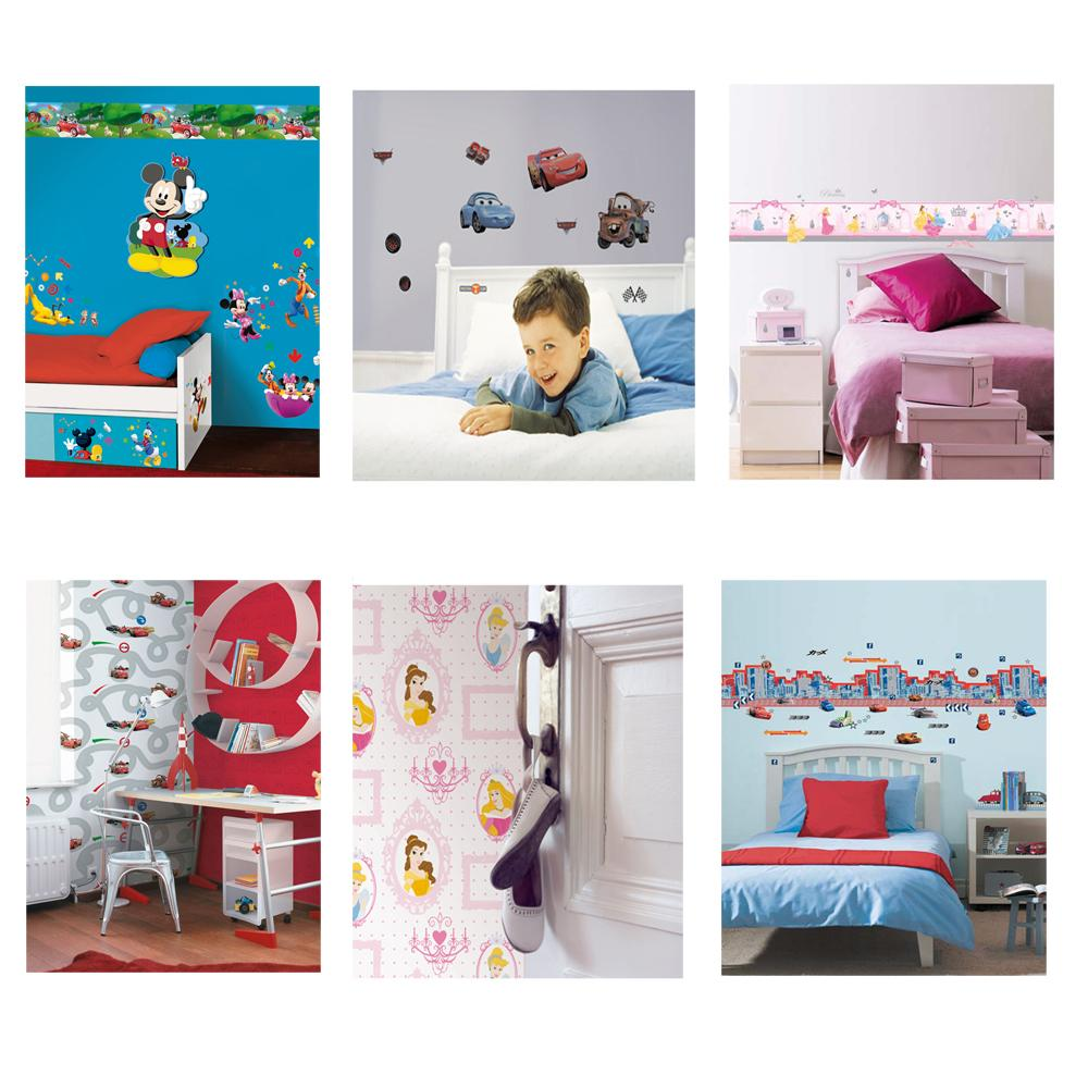 ... + Generic Wallpaper, Borders, Stickers - Kids Bedroom Wall Decor