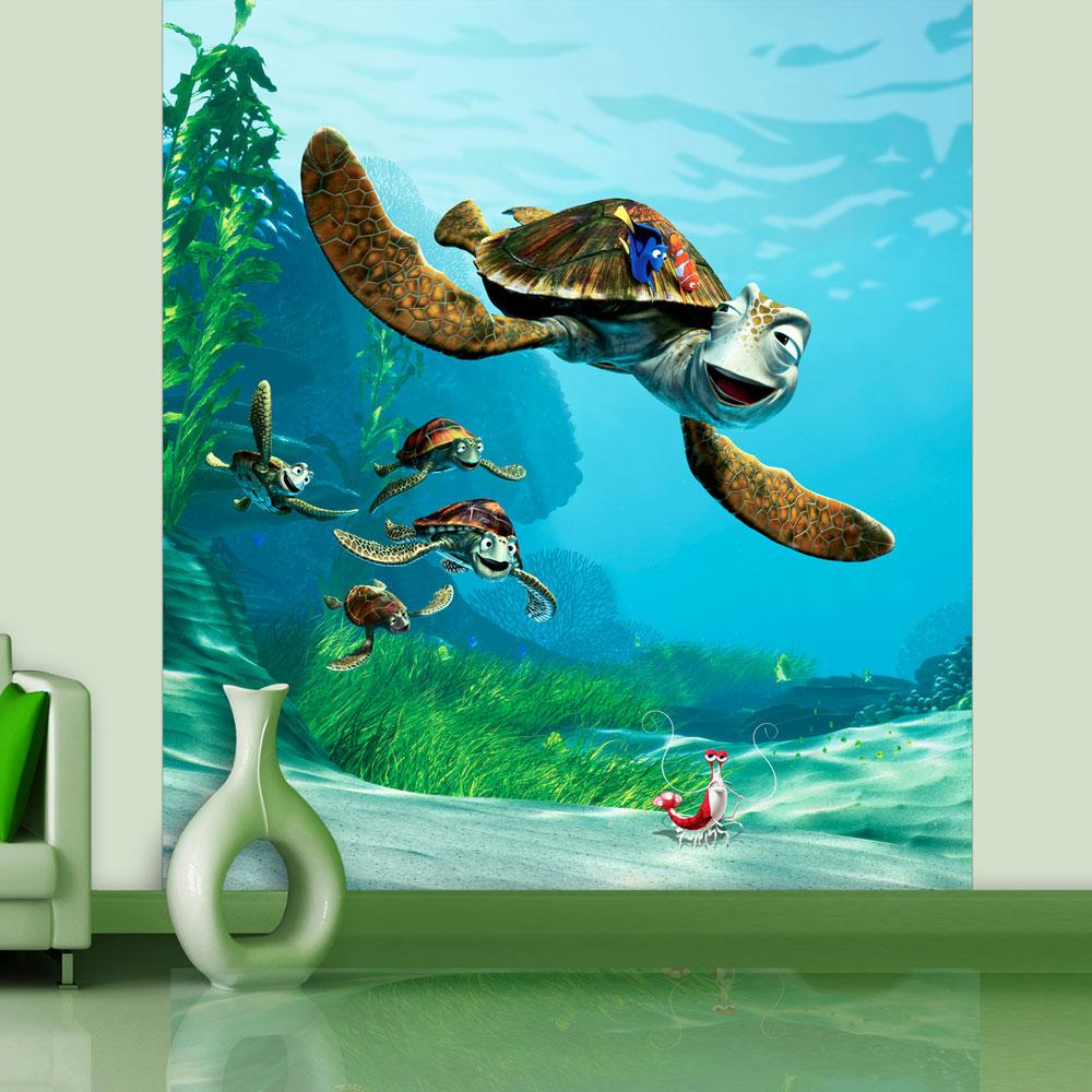 Disney finding nemo 39 crush 39 large photo wall mural room decor wallpap - Decor mural original ...