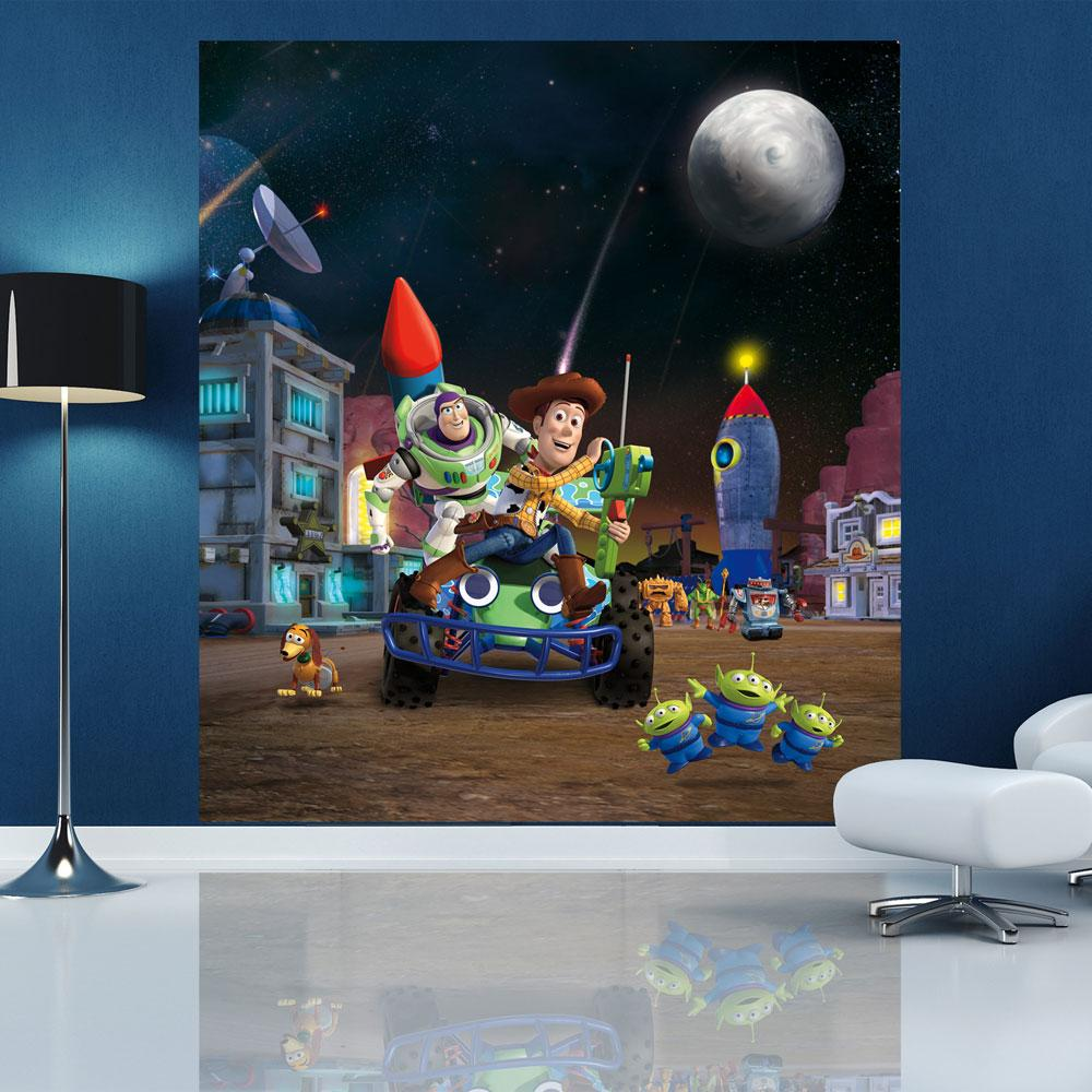 DISNEY Amp CHARACTER LARGE WALL MURAL BEDROOM DECOR  Part 38