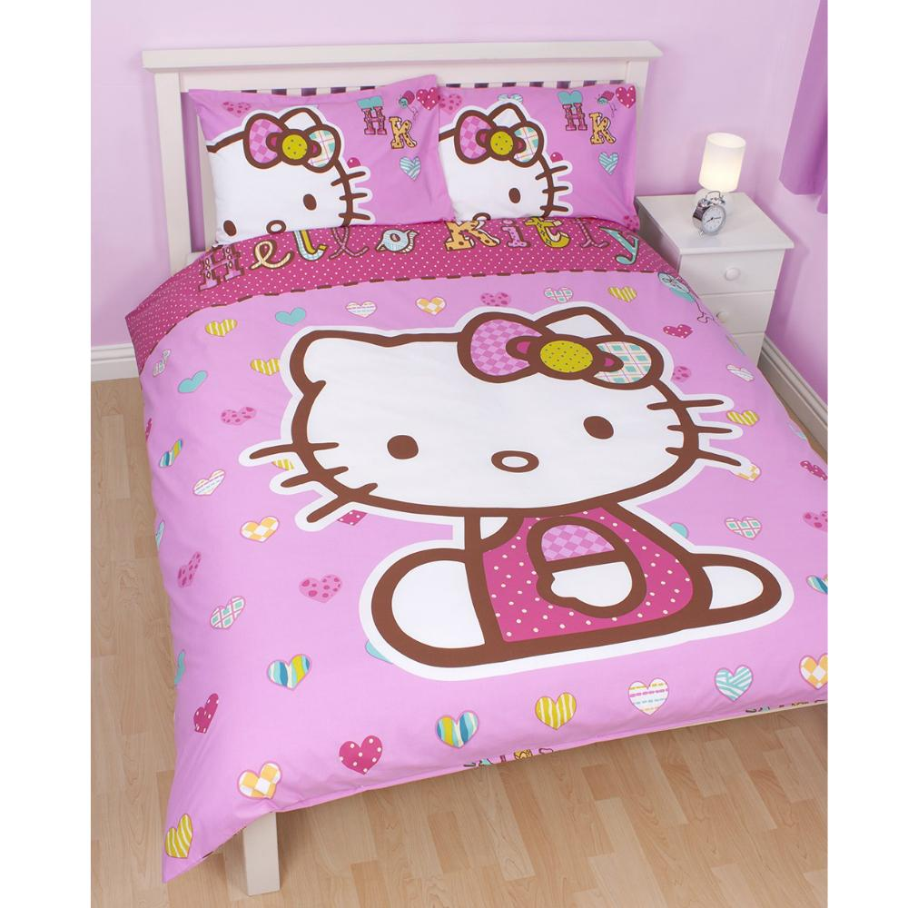 HELLO KITTY BEDROOM ACCESSORIES BEDDING FURNITURE & MORE 100 ...
