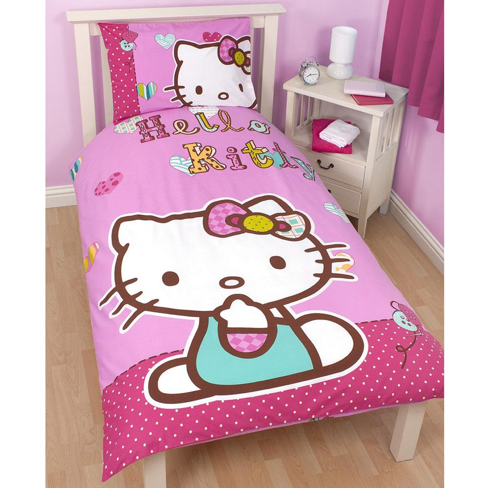 Official Hello Kitty Bedding Bedroom Accessories Furniture Free Uk P P Ebay