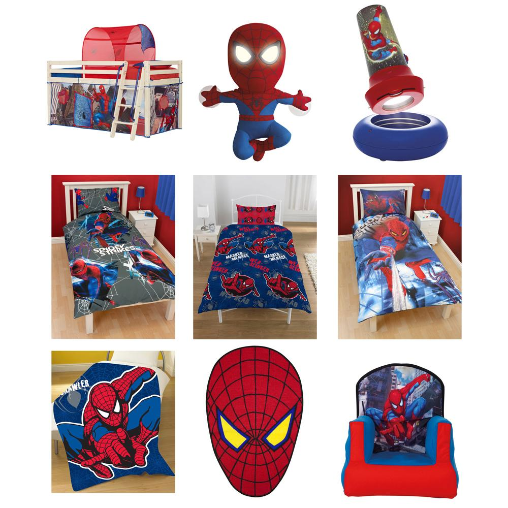 Spiderman bedroom accessories bedding new official ebay for Bedroom nothing lasts chords