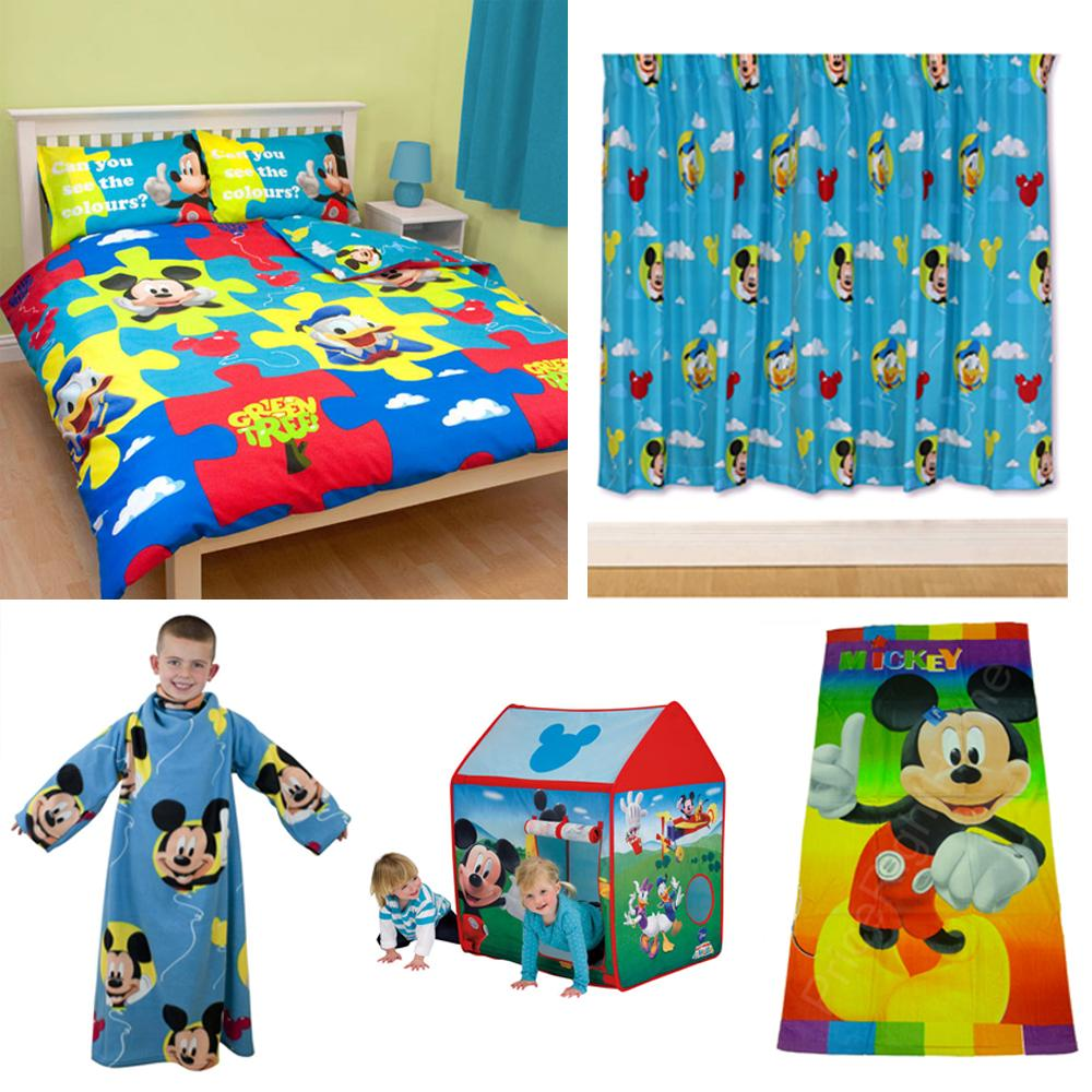 disney mickey mouse bedroom accessories bedding