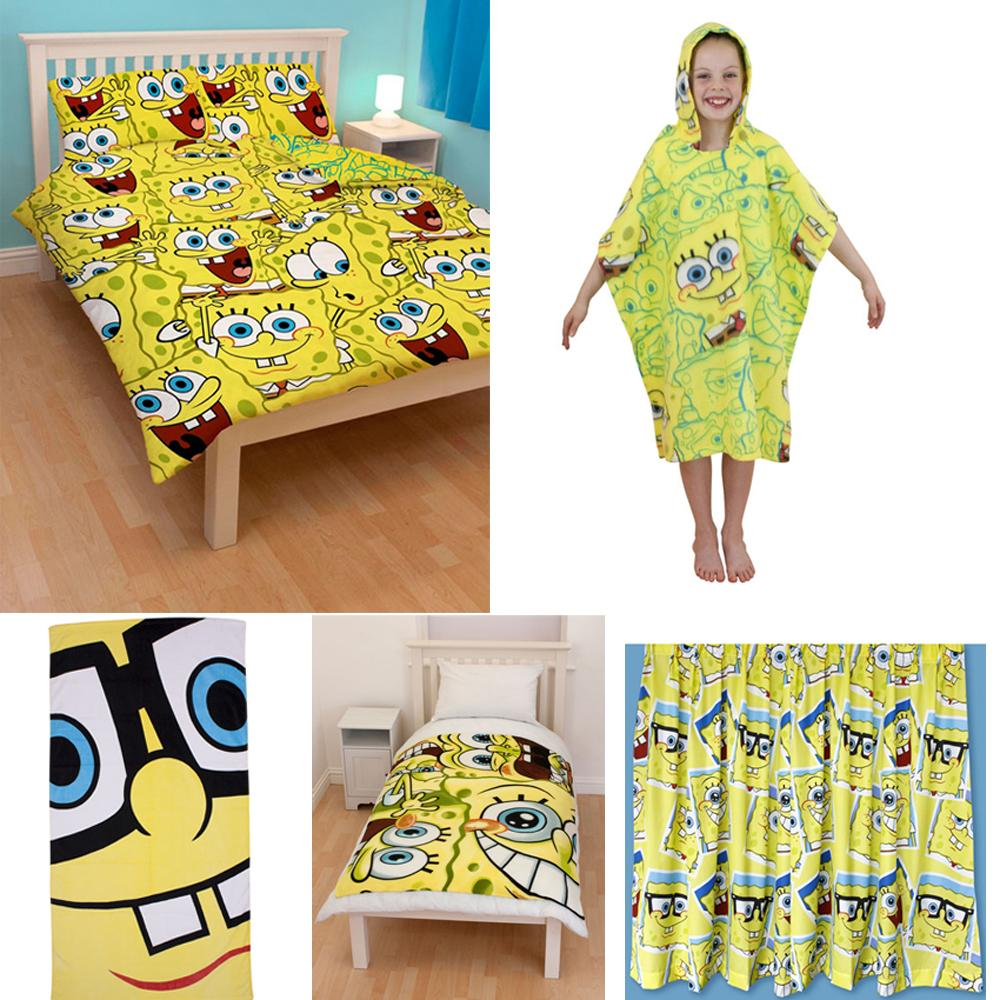 Spongebob squarepants bedroom bedding accessories for Bedroom nothing lasts chords