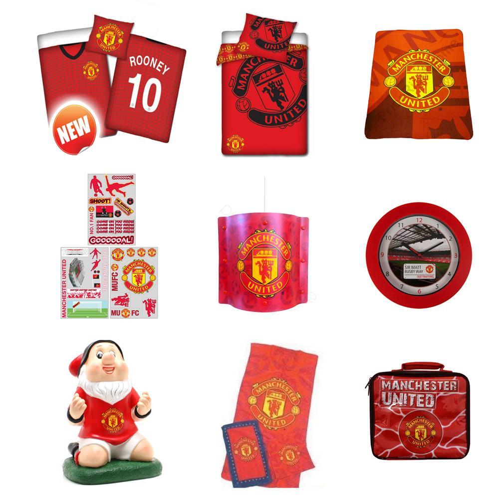 Manchester United Bedroom Manchester United Bedroom Accessories Bedding Lighting Amp More