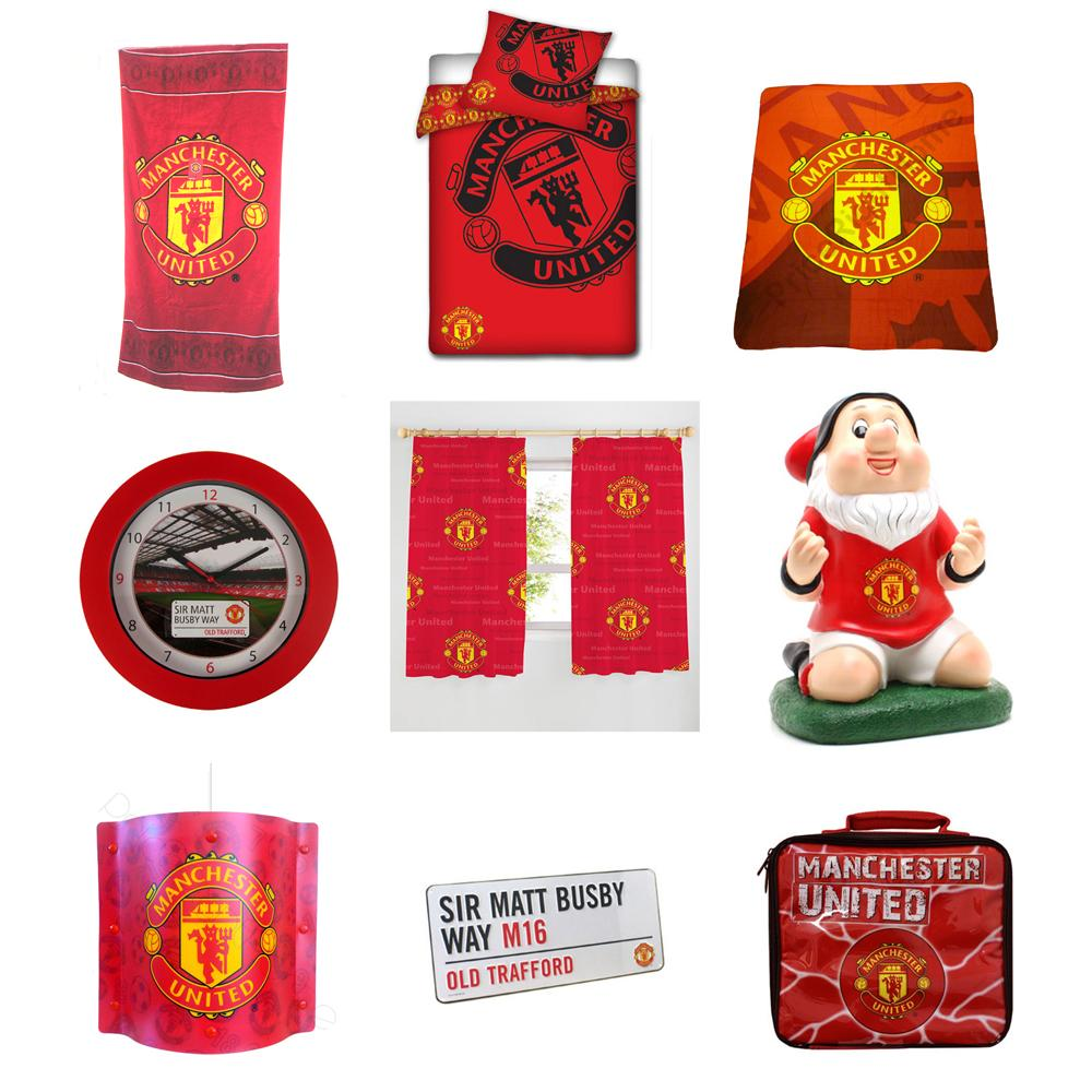 Manchester United Bedroom Accessories Manchester United Fc Bedroom Accessories Bedding Lighting Amp
