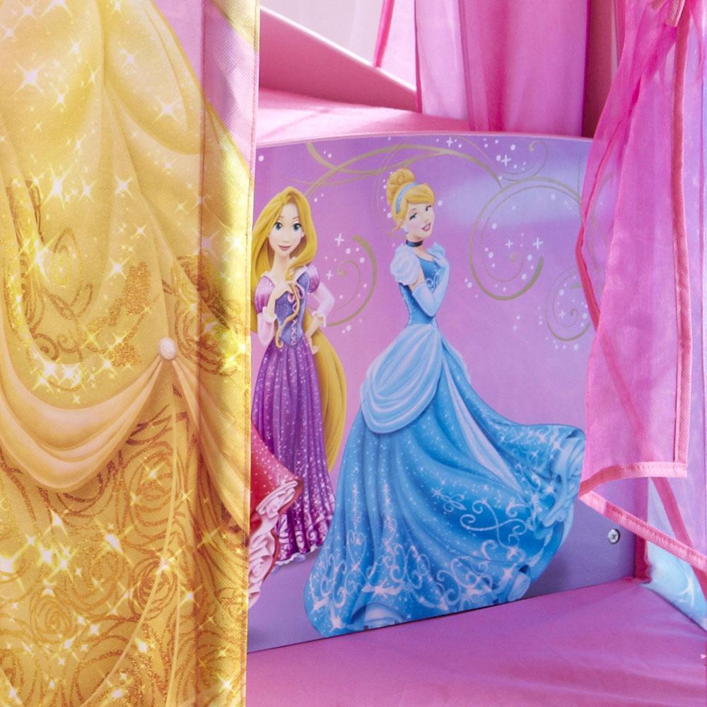 Disney Princess Feature Castle Toddler Bed + Mattress New ...