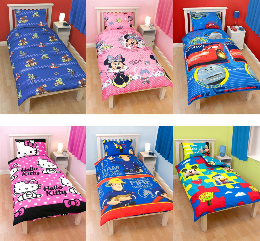 Kids Character And Generic Single Duvet Covers