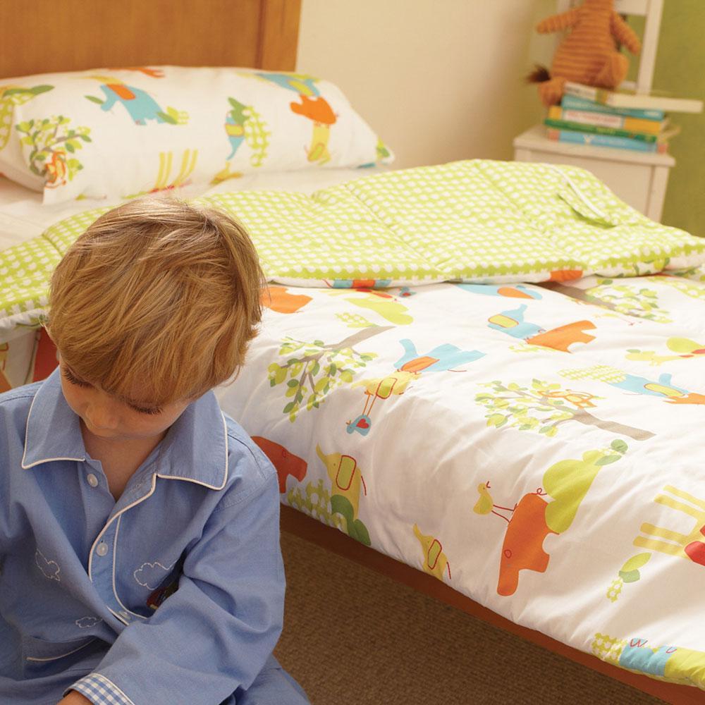 Gro To Bed Zip In Junior Cot Bed Bedding Set Jolly