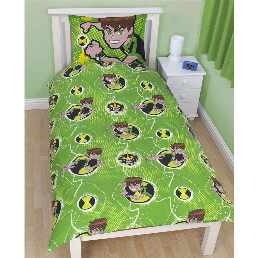 Ben 10 bedding duvet covers curtains and bedroom tattoo for Ben 10 bedroom ideas