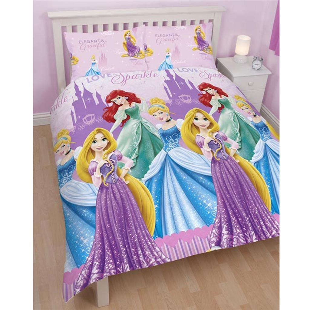 double character duvet covers bedding official cars minnie disney more ebay. Black Bedroom Furniture Sets. Home Design Ideas